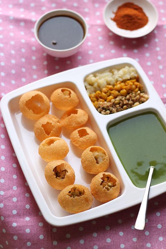 Pani Puri Recipe, How to make Mumbai Pani Puri Recipe | Puri recipes