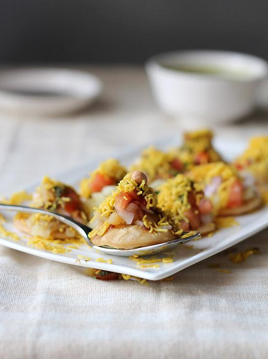 Sev Puri recipe, How to make Mumbai Sev Puri   Mumbai Street food