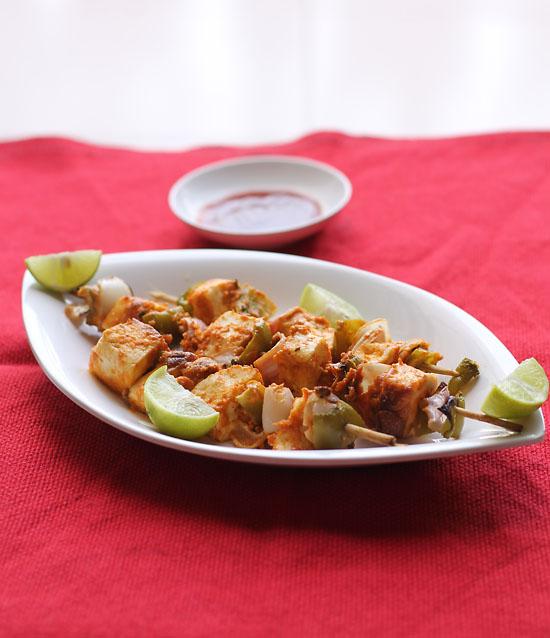 Malai Paneer Tikka Recipe, How to make Malai Paneer Tikka