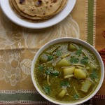 Aloo Palak Recipe, How to make Aloo Palak Recipe | Aloo Palak Curry Recipe
