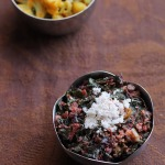 Amaranth Leaves Sabzi Recipe, Goan Amaranth Leaves Sabzi Recipe | Laal Maath sabzi