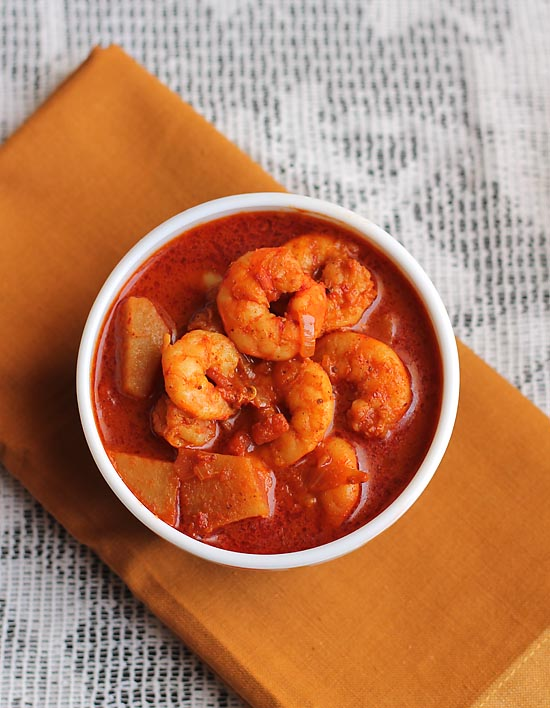 Prawn Vindaloo Recipe – How to make Goan Prawn Vindaloo Recipe | Prawn Recipes