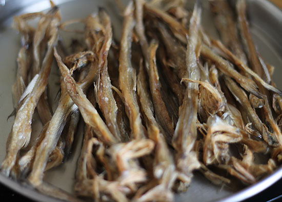 Dry Bombay Duck Fry Recipe
