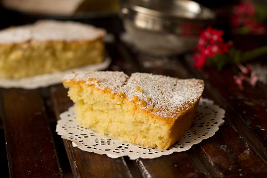 Eggless Butter Cake Recipe