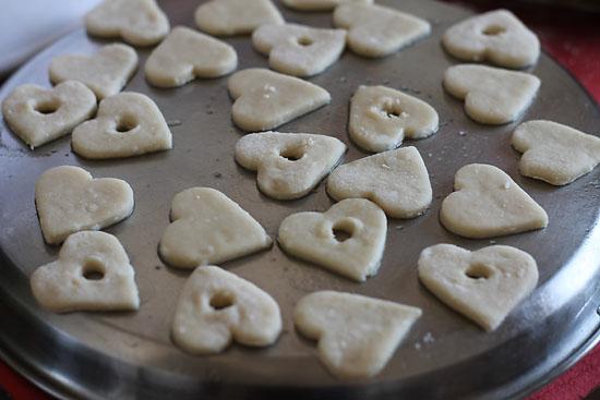 Eggless Jam Filled Cookies Recipe