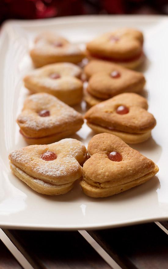 Eggless Jam Cookies (step by step)