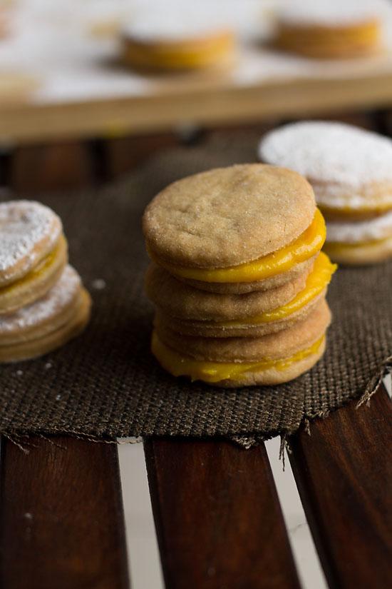 Eggless Sandwich Cookies Recipe, How to make Eggless Sandwich Recipe