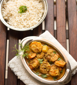 Prawns Curry Recipe, Malvani Prawns Curry Recipe | Prawns Recipes