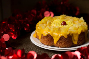 Eggless Pressure Cooker Cake Recipe
