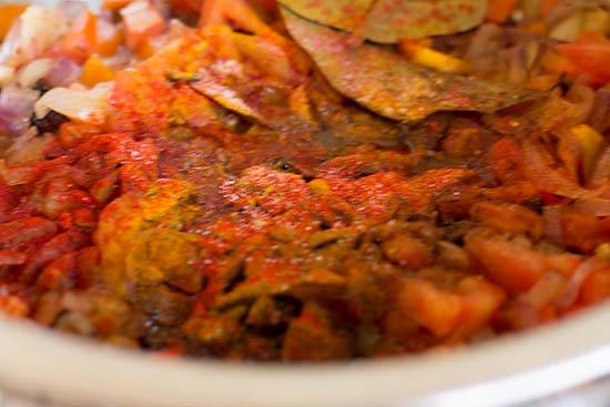 Hyderabadi Veg Biryani Recipe