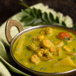 Green Prawn Curry Recipe, How to make Green Prawn Curry Recipe | Prawn Recipes