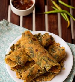 Kale Thepla Recipe, How to make Kale Thepla Recipe | Kale Flat Bread