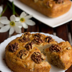 Eggless Banana Walnut Cake, How to make Eggless Banana Cake