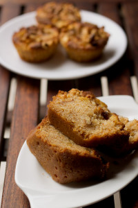 Eggless Danish Apple Cake