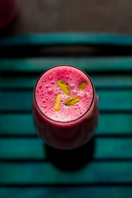 Rose Lassi Recipe, Easy Rose Lassi Recipe | Spiced Lassi Recipe