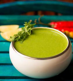 Mint Chutney Recipe, How to make Mint Chutney | Pudina Chutney for Tandoori Dishes