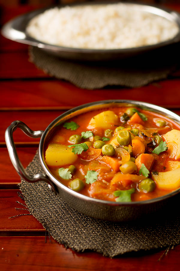 Mix Vegetable Curry Recipe, How to make Mix Vegetable Curry in Pressure Cooker