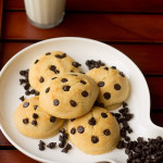 Eggless Chocolate Chip Cookies (step by step)