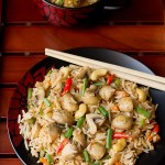 Mushroom Fried Rice (Step by Step)
