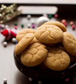 Eggless Ghee Cookies Recipe, How to make Eggless Ghee Cookies | Wheat Ghee Cookies