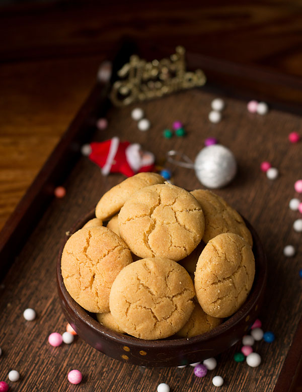 Eggless Ghee Cookies Recipe
