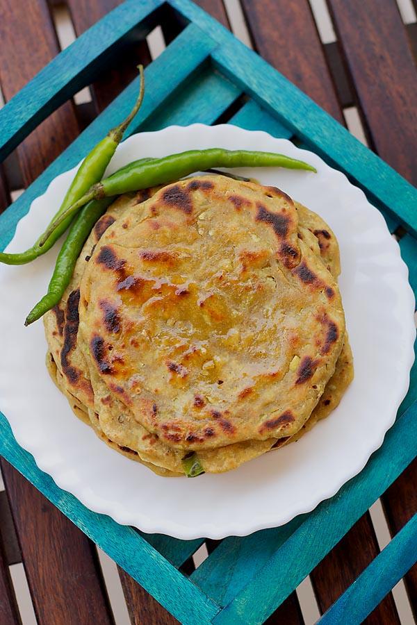 Lauki Paratha (Quick & Healthy)