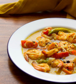 Prawns Moilee Recipe or Molly Recipe, How to make Prawns or Fish Moilee | Chemeen Moilee