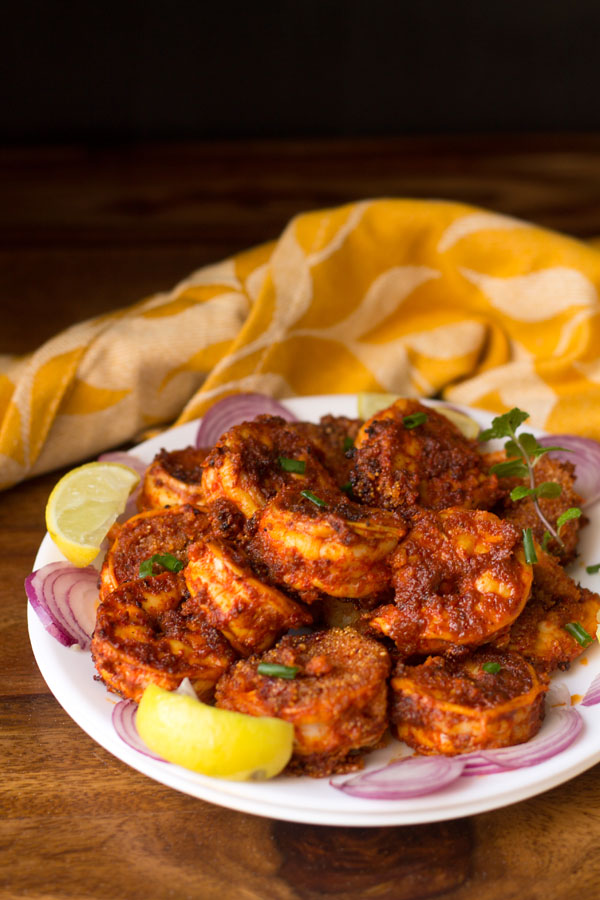 Prawns Recheado Masala (hot & spicy)