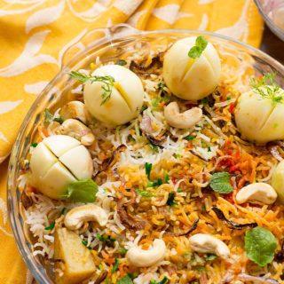 Egg Biryani Recipe, How to make Hyderabadi Egg Biryani Recipe | Biryani Recipes