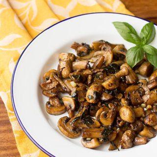 Mushroom Stir Fry Recipe, How to make Mushroom Stir Fry Recipe