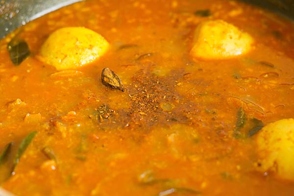Egg Curry Recipe or Egg Masala Recipe