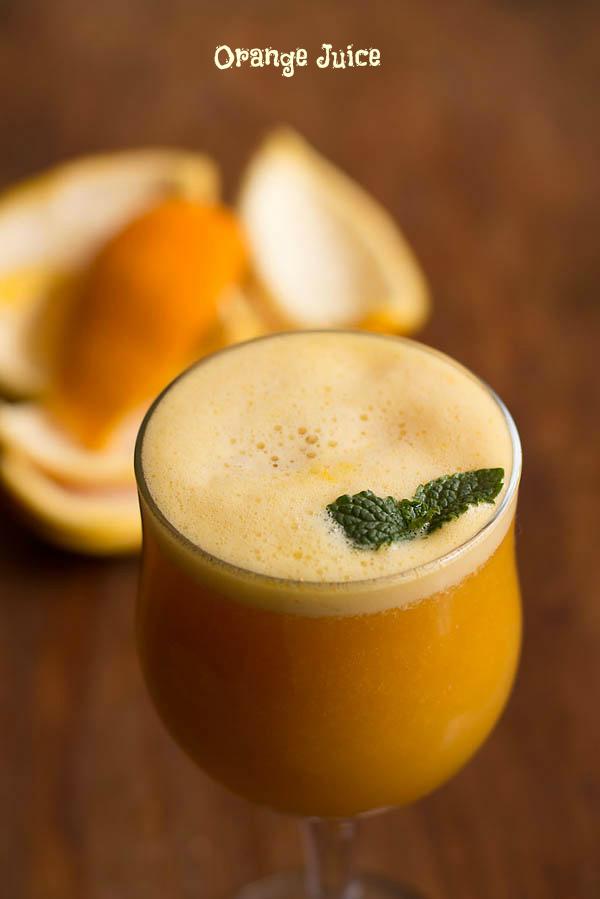 How to make Orange Juice (Sugar Free)