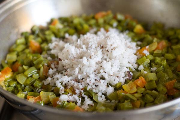 cluster beans foogath recipe