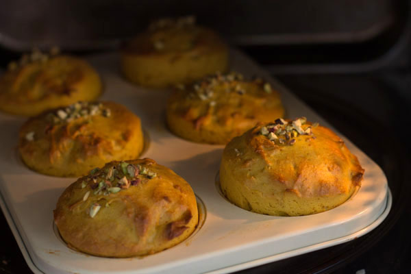 eggless mango muffins recipe