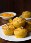 Eggless Mango Muffins Recipe, Eggless Whole Wheat Mango Muffins