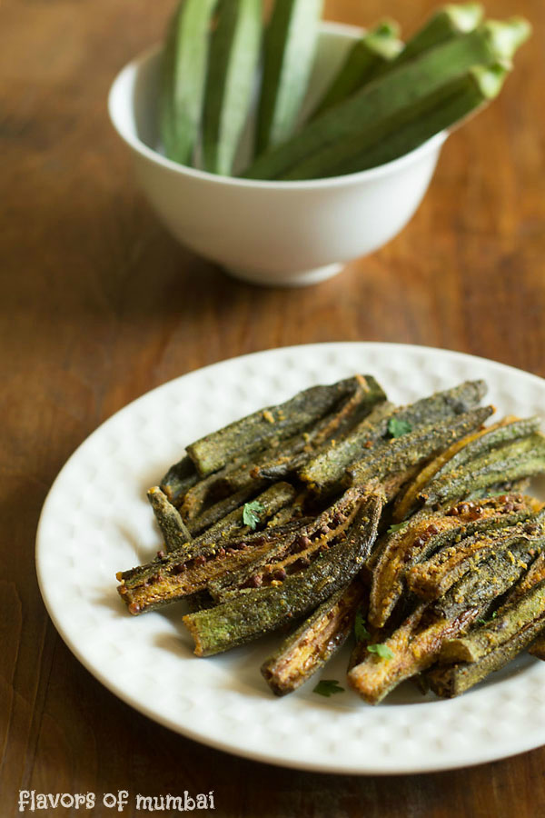 Kurkuri Bhindi or Bhindi Fry, How to make Kurkuri Bhindi  Recipe