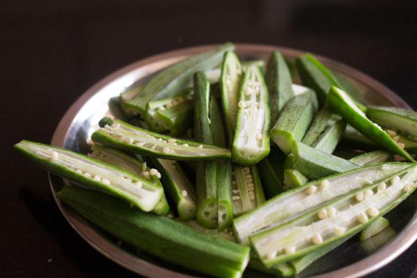 kurkure bhindi or bhindi fry