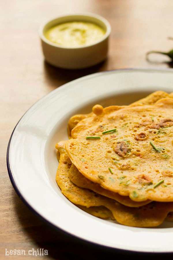 Besan Cheela Recipe, How to make Besan Cheela | Veg Omelette