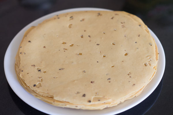 masala papad recipe