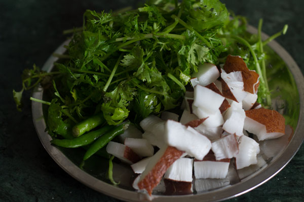 green chutney sandwich recipe