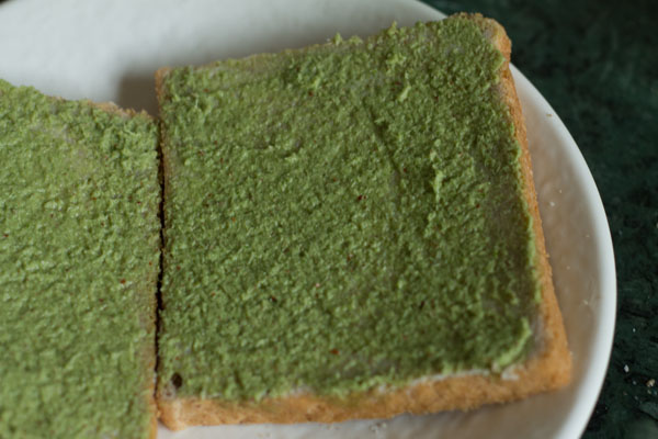 green chutney sandwich recipe