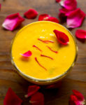 Mango Shrikhand Recipe, Instant Mango Shrikhand with Greek Yogurt