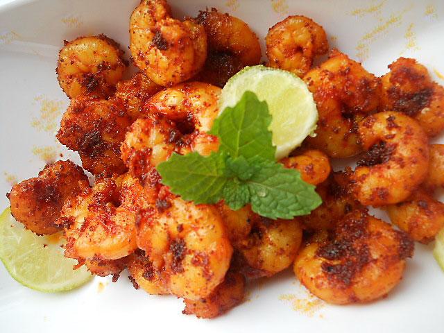 Goan Prawn Fry Recipe, How to make Goan Prawns Masala Fry Recipe