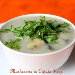 Mushrooms In Potato Soup, How to make Mushrooms Potato Soup recipe