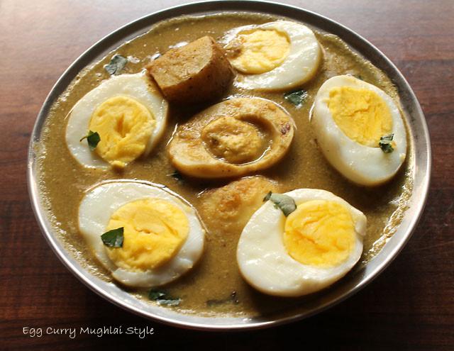 Egg Curry Mughlai Style