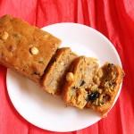 Eggless Christmas Fruit Cake , Easy Eggless Christmas Fruit Cake Recipe