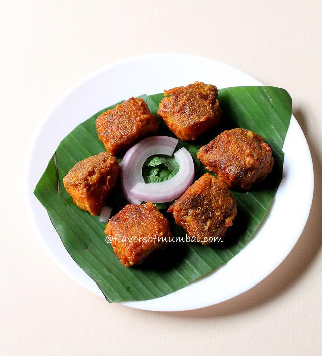 Goan Shark Fry, How to make Goan Shark Fry Recipe   Mooshi Fry or Mooshi Masala Fry