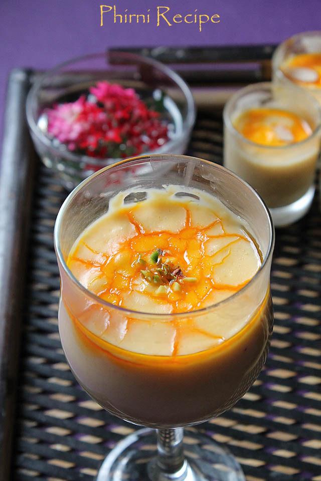 Phirni Recipe, How to make Phirni Recipe | Rice Phirni Recipe