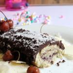 Chocolate Swiss Roll Recipe, Easy Chocolate Swiss Roll Recipe | Swiss Roll Recipe