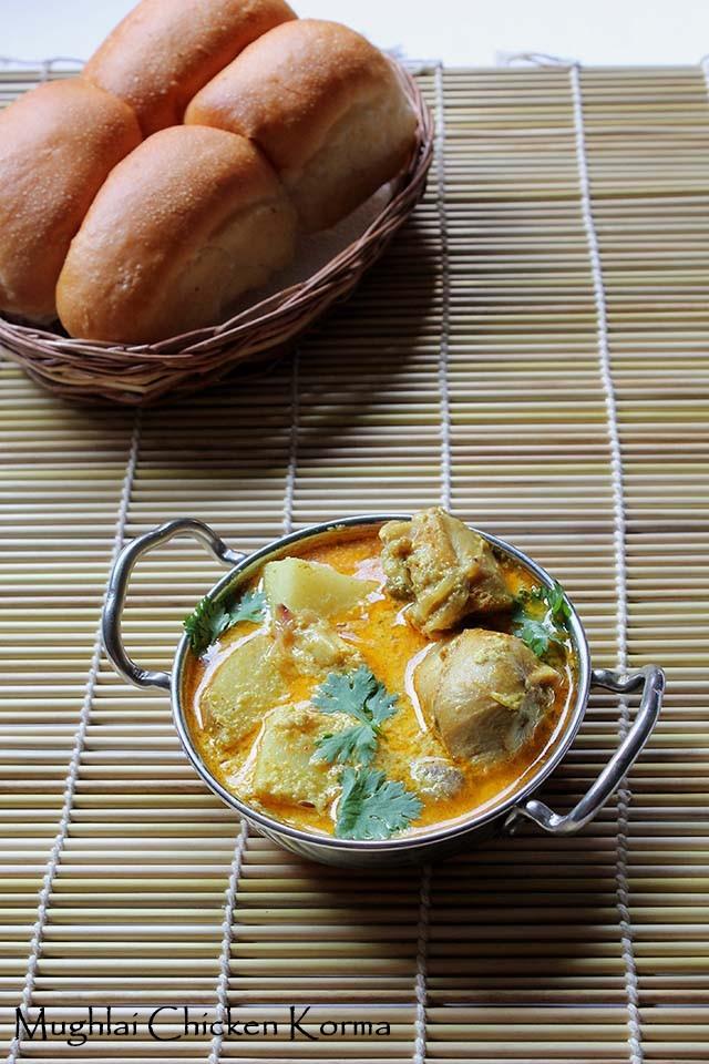 Mughlai Chicken Korma